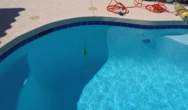 Pool services pool rebar repair pool rust repair underwater for Staines swimming pool timetable